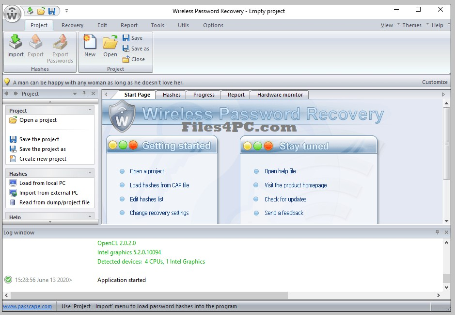 Passcape Wireless Password Recovery Professional Serial Key Download