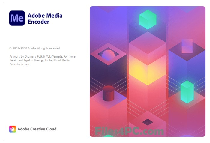 Adobe Media Encoder CC Full Version Interface
