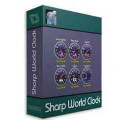 Sharp World Clock Serial Key Free Download