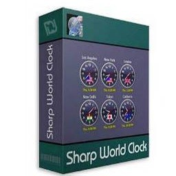 Sharp World Clock 9 0 3 With Serial Key Latest Files4pc