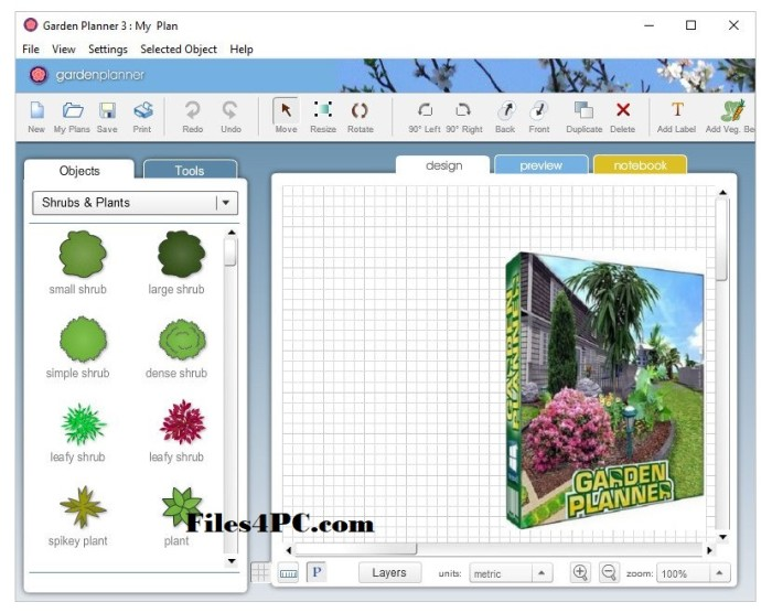 Garden Planner 3.7.68 Full Version Interface
