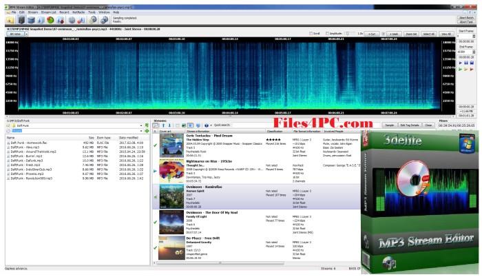 MP4 Stream Editor Full Version Interface