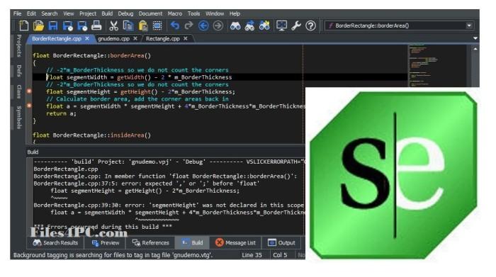 SlickEdit Pro 2020 Full Version Interface