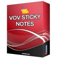 VovSoft Vov Sticky Notes 6.1 + Crack Download [Latest]